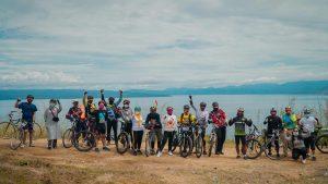 Promosi Pariwisata Toba di Era Normal Baru dengan Geobike Kaldera Toba #6