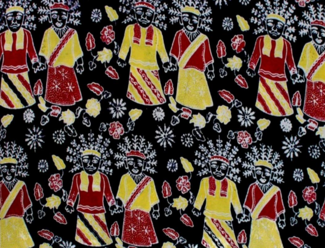 Batik Betawi.