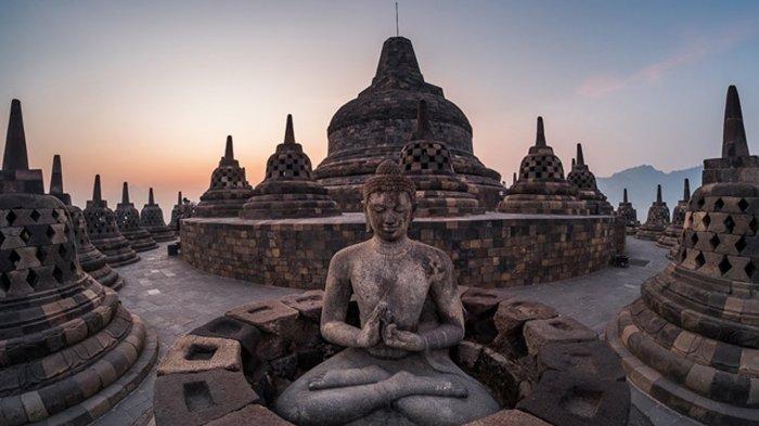 Sumber : Capture YouTube Candi Borobudur, Jawa Tengah