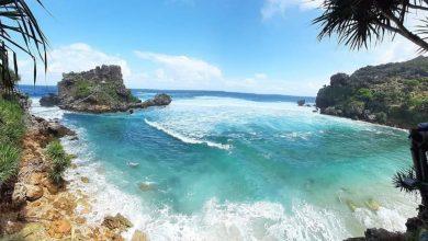 Pantai Wediombo Gunung Kidul, DI Yogyakarta./foto: instagram pariwisata_gunungkidul