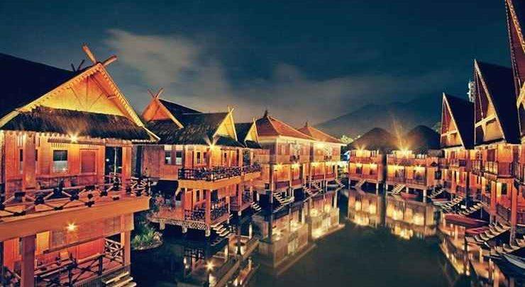 Danau Dariza Resort Hotel Garut / Foto : traveloka.com