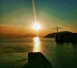 Sunset di Waduk Jatiluhur / Foto : Arie