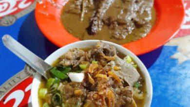 Nasi Grombyang, kuliner Pemalang, Jawa Tengah./foto: instagram abdiansyah.77