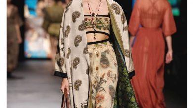 Kain Endek yang dipamerkan rumah mode rumah mode Christian Dior dalam pekan mode Prancis./foto: voaindonesia