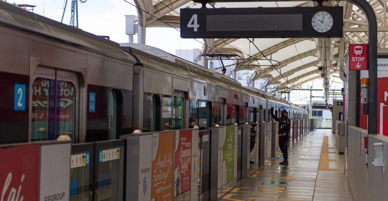 Stasiun MRT Blok M / Foto : jakartamrt.co.id