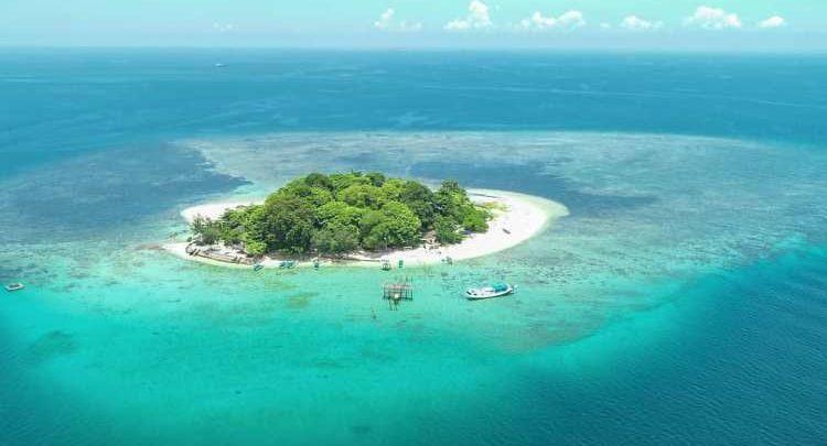Pulau Samalona di Sulawesi Selatan / Foto : Instagram @ryanzulfikra