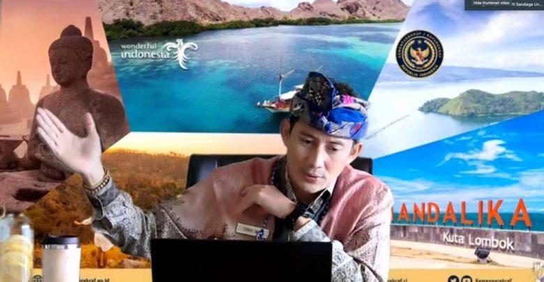 Menteri Pariwisata dan Ekonomi Kreatif Sandiaga Salahuddin Uno / Foto : Kemenparekraf