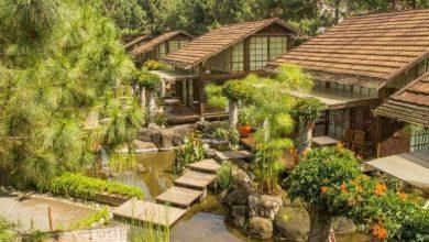 Suasana perumahan Jepang di Vila Air Natural Resort di Bandung./foto: instagram vilaairnaturalresort