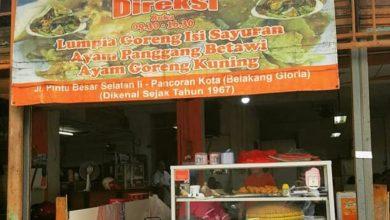 Warung Gado-gaso Direksi di Gang Gloria, Glodok, Jakarta Barat./foto: instagram gabrielpauluschou