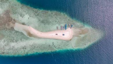 Pulau Gosong Patrick Kepulauan Seribu./foto: instagram rmadhany
