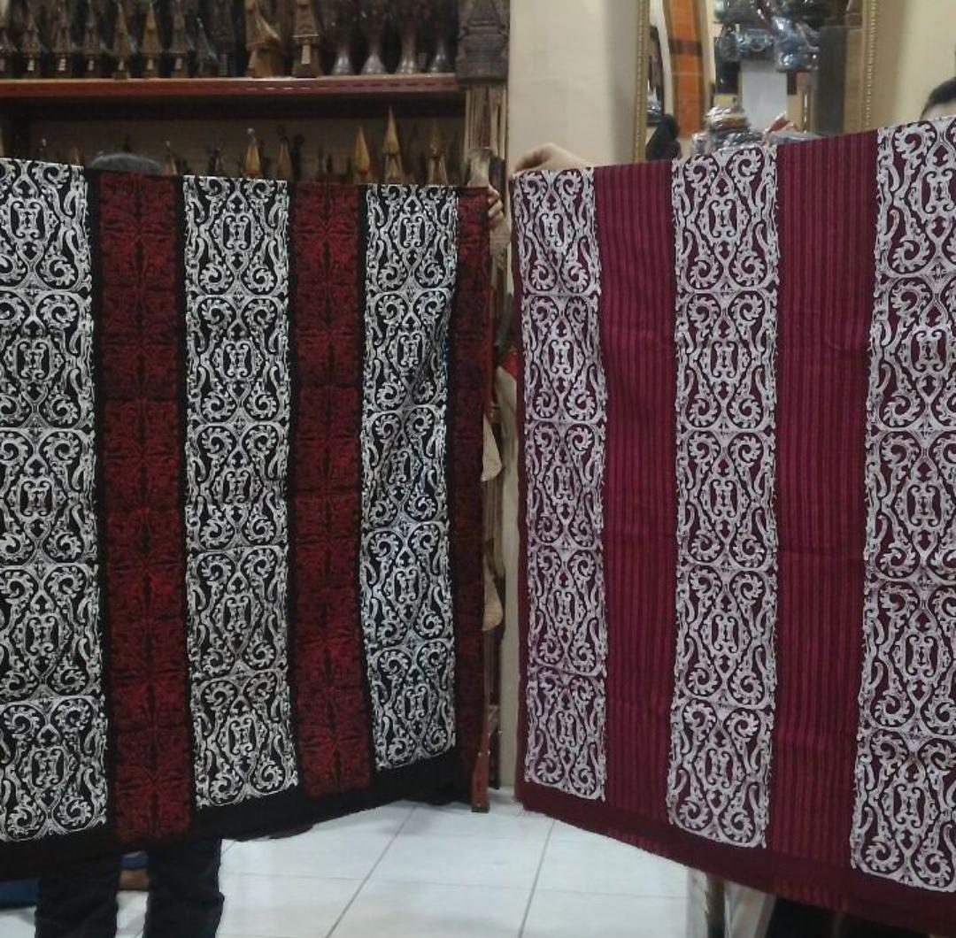 Kain batik batak gorga./foto: instagram batik.batak.gorga