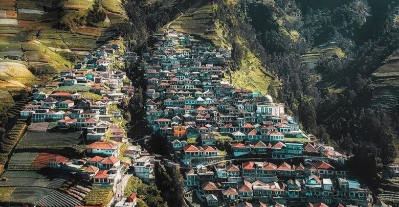 Nepal van Java di Desa Butuh, Magelang, Jawa Tengah./foto: instagram jogjajateng.info