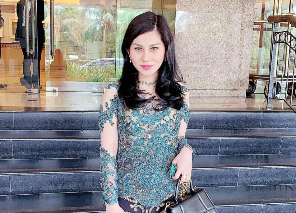 Lady Marsella, Duta Satgas Toilet Indonesia./foto: instagram ladymarsella30