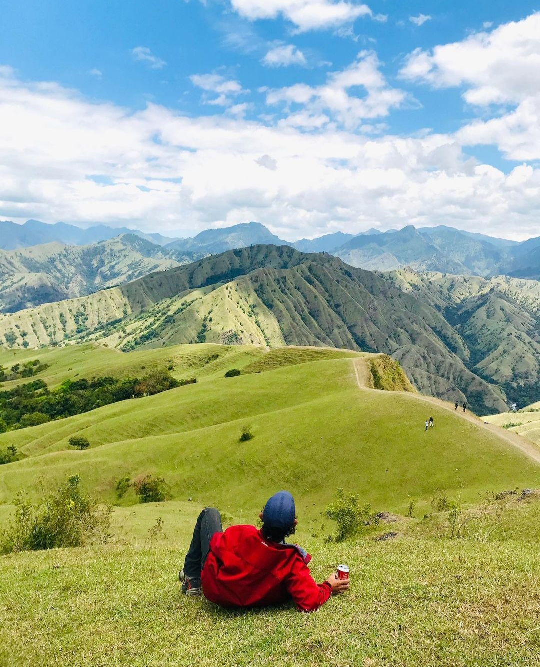 Bukit Romantis Buttu Passapa di Tana Toraja, Sulawesi Selatan./foto: instagram fuad2777
