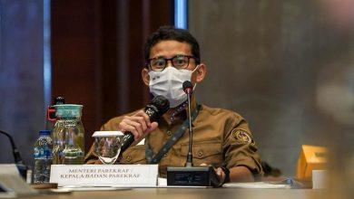 Menparekraf Sandiaga Uno saat memoimpin rapat pimpinan Kemneparekraf/ Foto : kemenparekraf.go.id