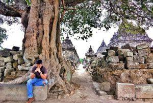 Candi Plaosan di Klaten, Jawa Tengah./foto:instagram candiplaosan