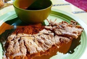 Sotong Pangkong sangat lezat dimakan bersama sambal kacang / Foto : merahputih.com